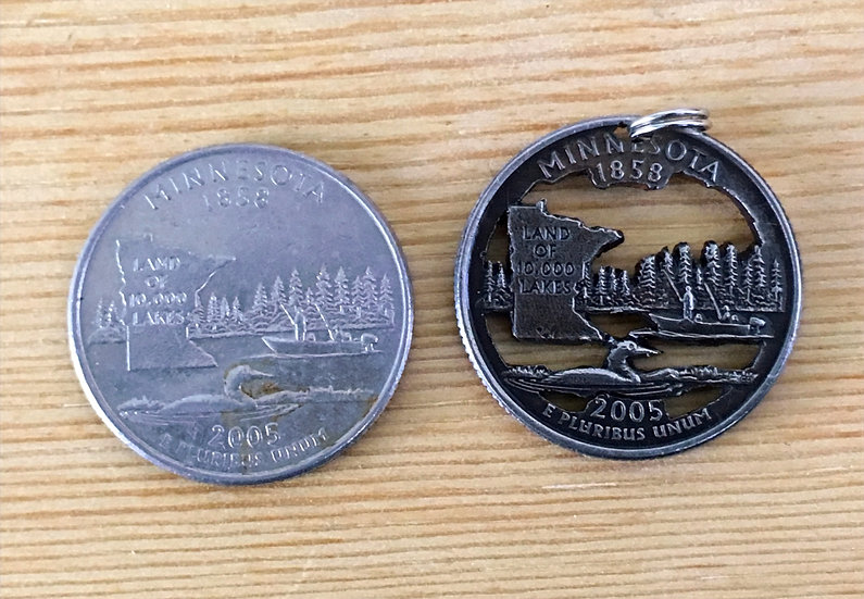 Minnesota Quarter Pendant ($20-$80)