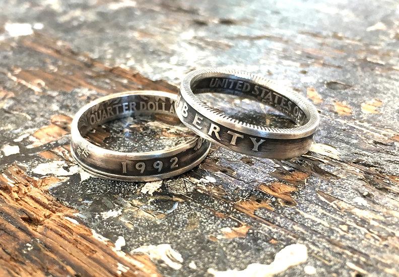 Silver Quarter Rings (1992-1998)