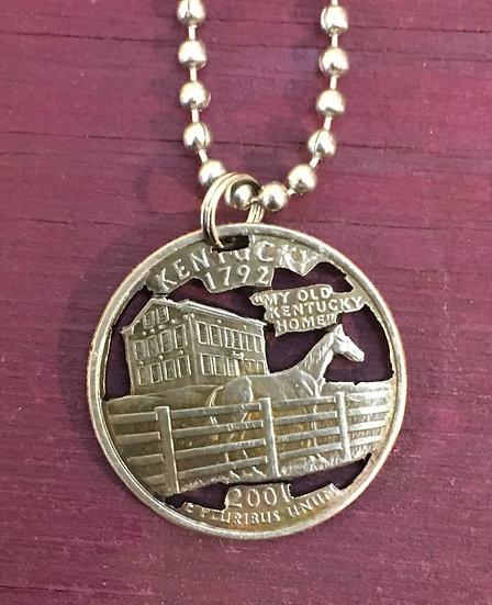 Kentucky Quarter Pendant($20-$70)