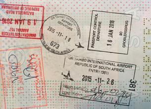 Reisdocumenten die je nodig hebt voor je reis naar Zuid-Afrika