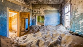 Bezienswaardigheid Namibië: Kolmanskop, de spookstad in de woestijn