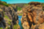 Blyde River Canyon - Bourkes Luck Pothol