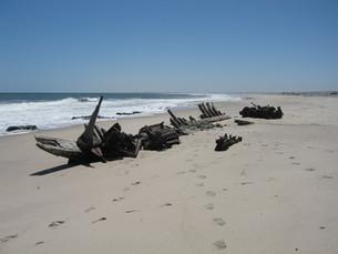 Bezienswaardigheid Namibië: Skeleton Coast
