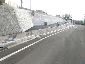 芸文短大北側進入路道路改良工事竣工写真.jpg