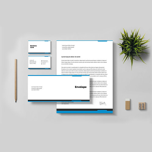 Business Identity Package Silver