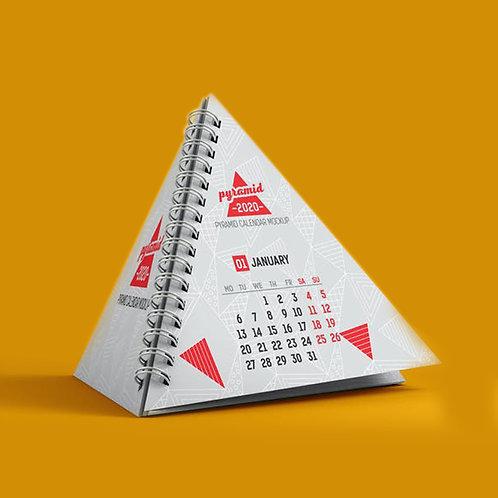 Table Calendar Pyramid
