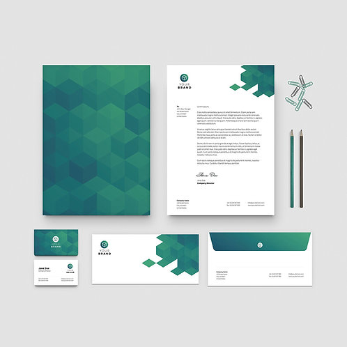 Business Identity Package Gold