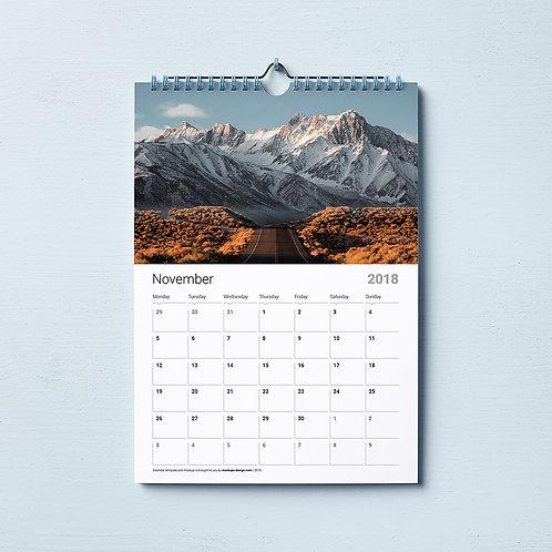 Wall Calendar - 12L