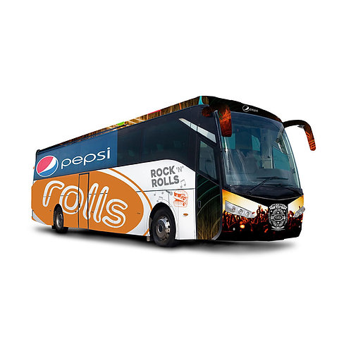 Ad-Vehicle Bus