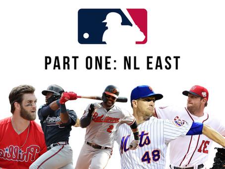 2020 MLB Season Predictions Part One : N.L. East