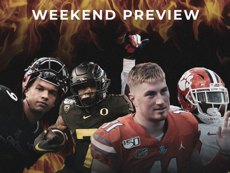 College Football Weekend Preview: Two Key Big 10 Matchups Highlight the Slate