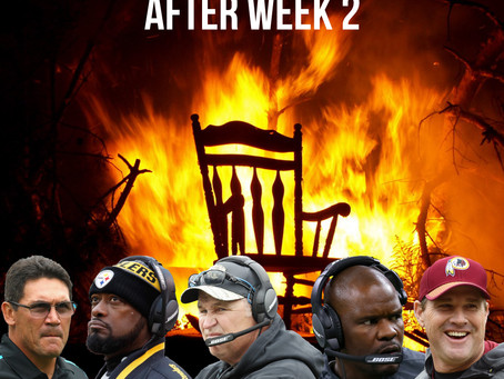 Nfl Coaches on the hot seat after week two