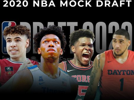 2020 NBA Mock Draft: Who Goes Number One?