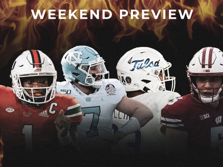 College Football Weekend Preview: Covid-19 is Depleting the Slate