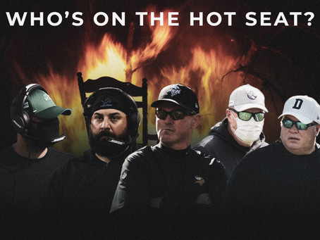 Five NFL Coaches on the Hot Seat