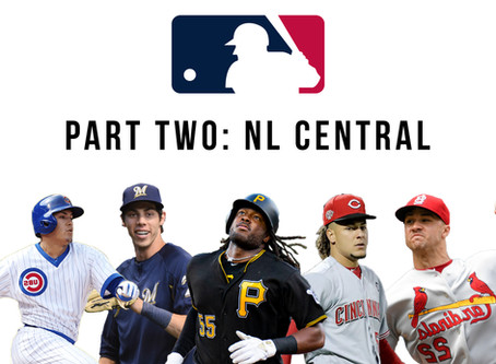 2020 MLB Predictions Part Two: N.L. Central