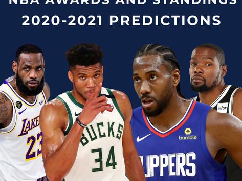 2020-2021 NBA Predictions