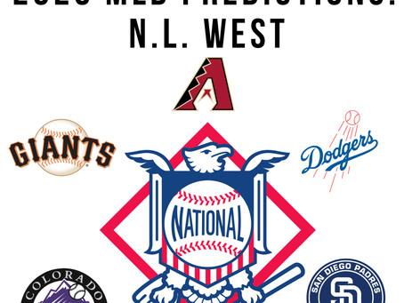 2020 MLB Predictions Part Three: N.L. West
