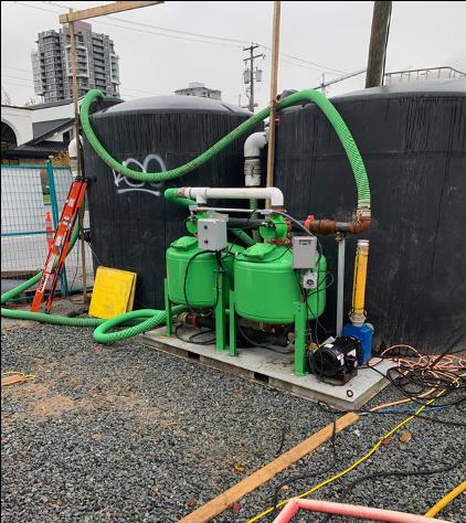 Sediment Control System, Construction Water Treatment Plant