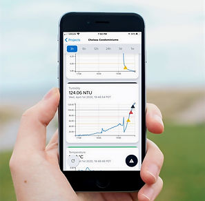 Flowlink water monitoring mobile app