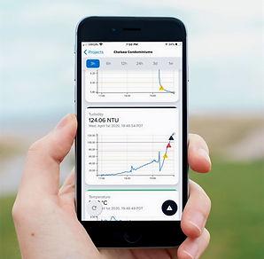Flowlink water monitoring mobile app