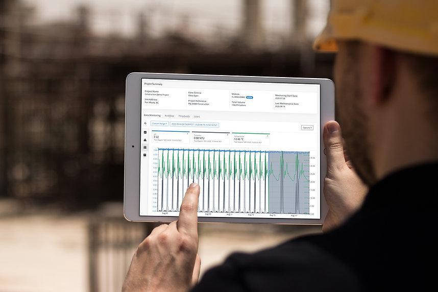 Water data monitoring software Canada