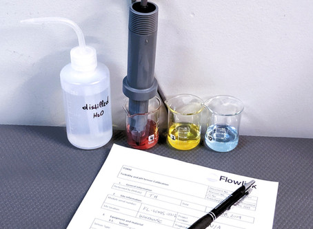 Water quality indicator: pH