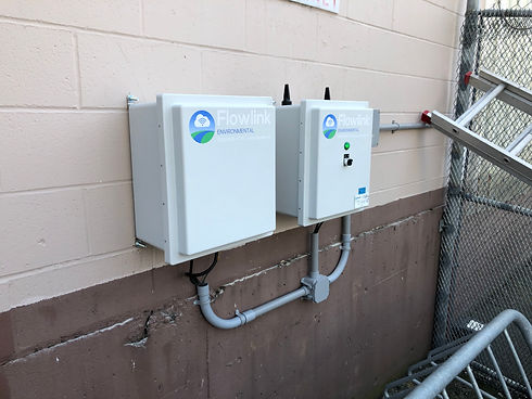 Online wastewater monitoring system