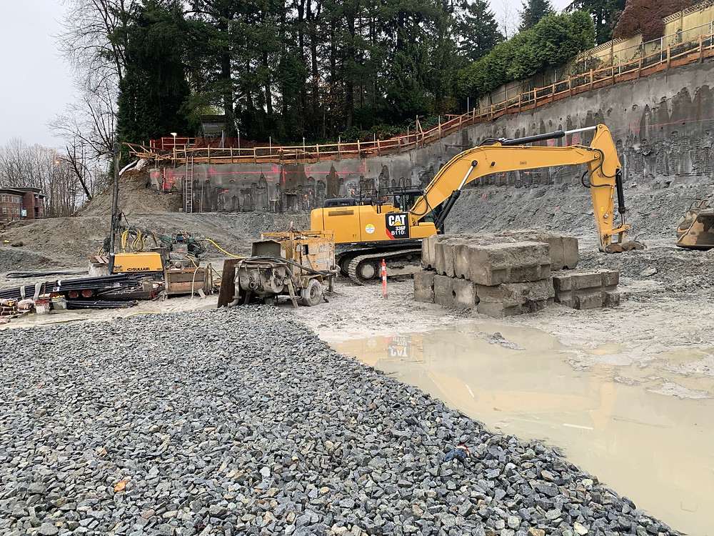 Construction site, stormwater
