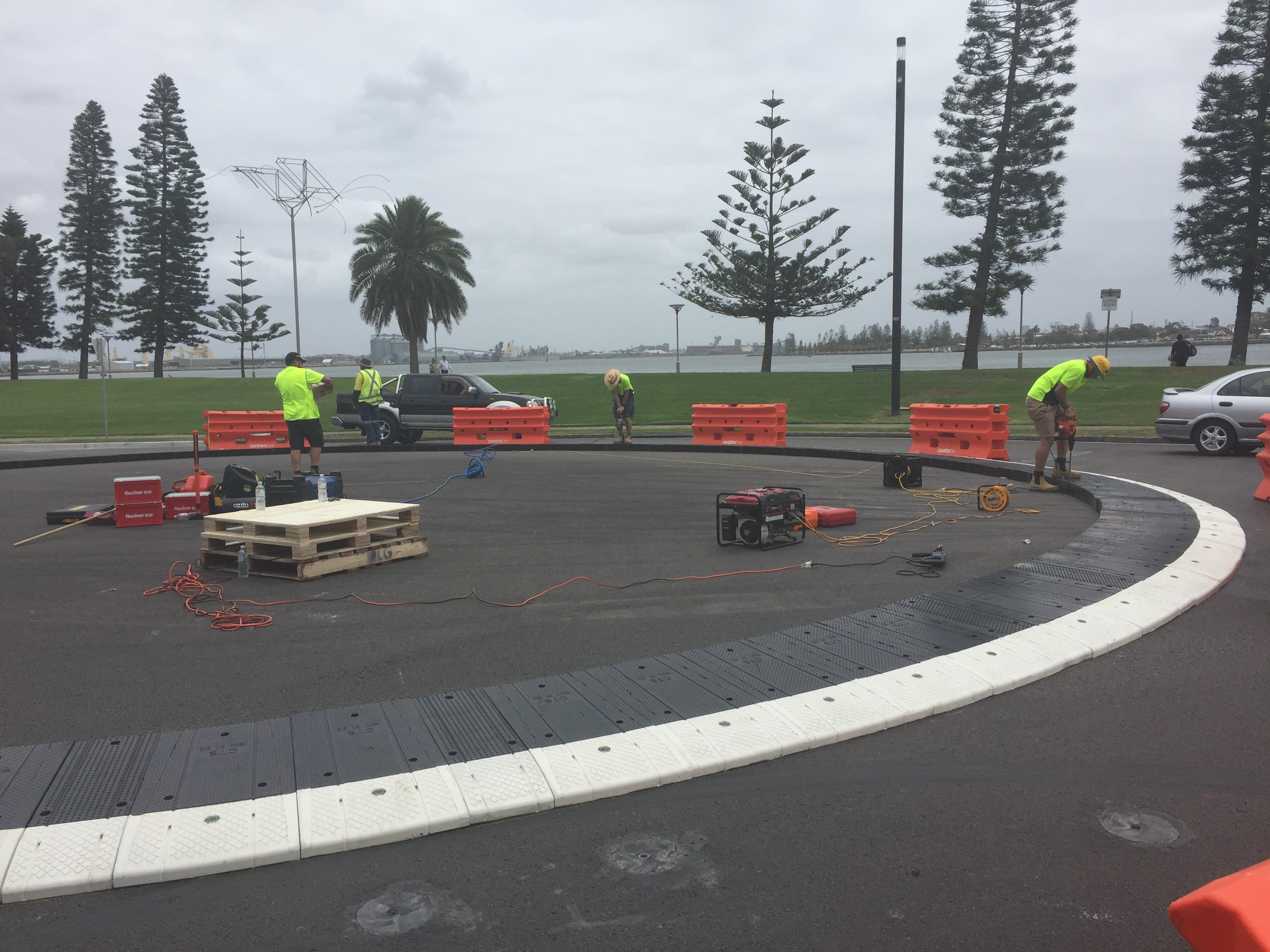 Roundabout Install 2