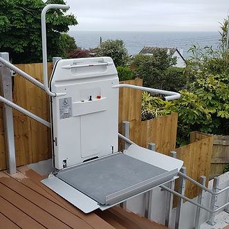 Simplicity Incline Platform lift, Disability lift, wheelchair stairlift
