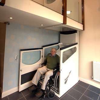Harmony Throughfloor home lift, Disability lift