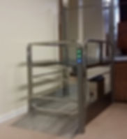 Freedom Enclosed Steplift, Disability lift for carers assistance