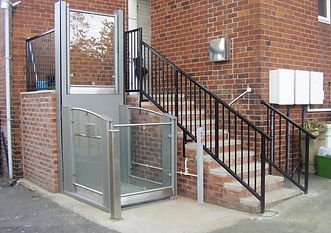 Freedom Elite platform lift, Disability lift travels upto 3m