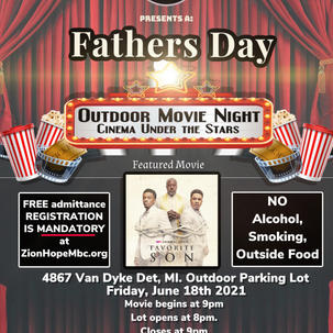 Father's Day Movie Night