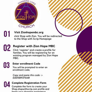 Shop With Zion!