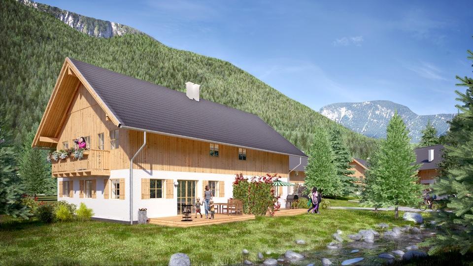 Wolfgangsee Zwei-Familienhaus