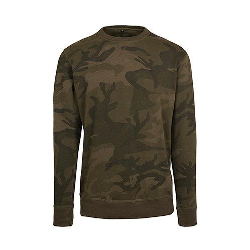 Camo Crewneck T-Shirt