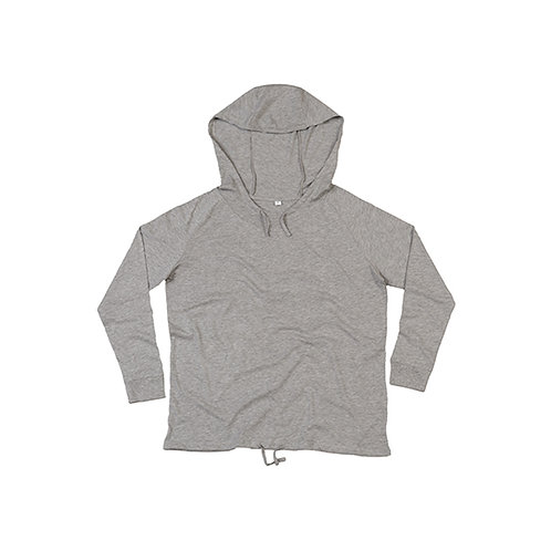 Women`s Organic Loose Fit Hooded T
