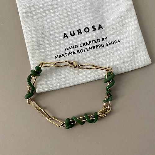 Green Bubble bracelet