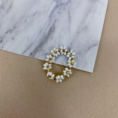 White Bride Ring