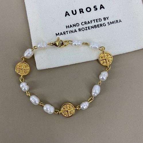 Pearl Coin bracelet