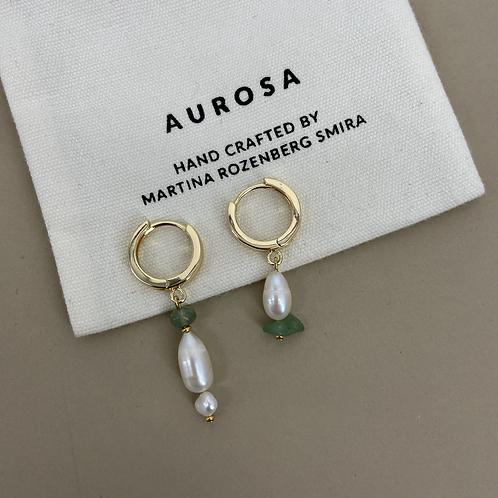 Aventurine earrings
