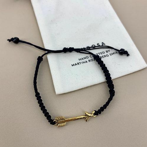 Arrow bracelet black