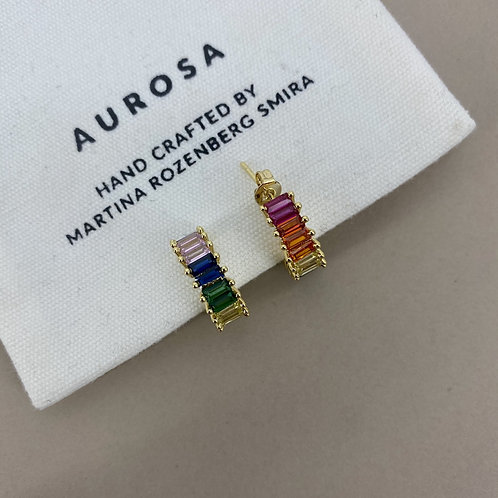 Rainbow Power earrings