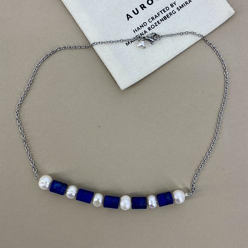 Lapis Lazulit Pearls necklace
