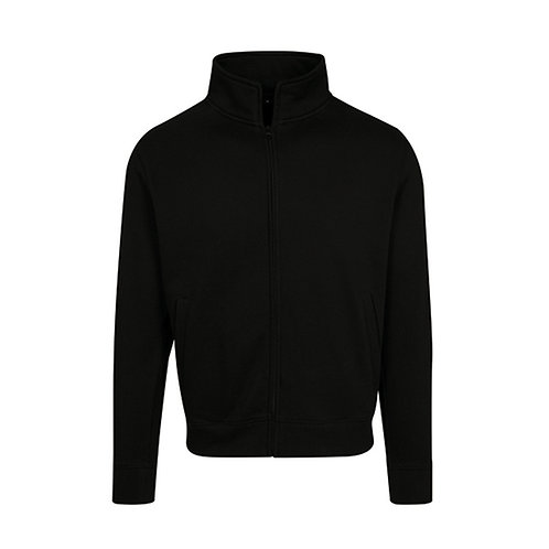 High Neck Sweat Zip Cardigan