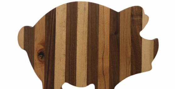 Medium Pig Charcuterie / Cutting Board