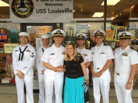 The USS Louisville Visit to Louisville, Kentucky