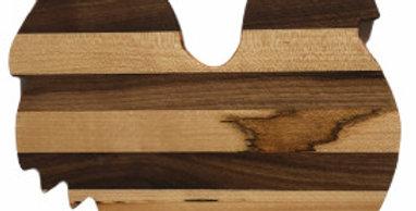 Medium Rooster Charcuterie /Cutting Board